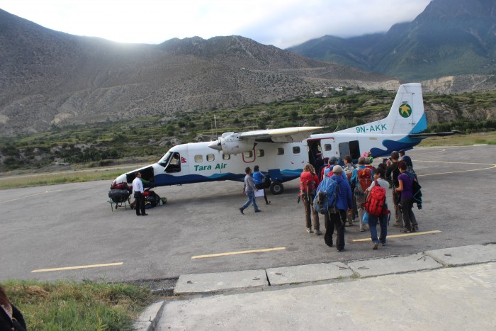 Pokhara - Jomsom Flight Ticket Booking